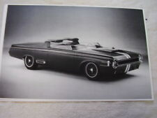 1964 DODGE CHARGER 1 CONCEPT SHOW CAR  11 X 17  PHOTO  PICTURE