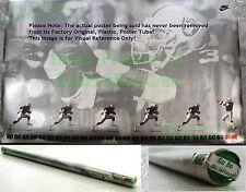 NITF Factory SEALED Nike BO JACKSON Poster GO BO Oakland Raiders NFL w/ LABEL