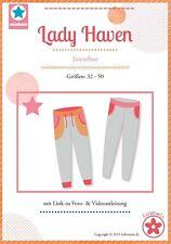 Lady Haven Sweathose Papierschnittmuster