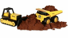 Tonka Metal Movers Bulldozer & Mighty Dump Truck with Tonka Tough Dirt 06021