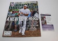 Bubba Watson Signed Sports Illustrated Magazine No Label The Masters  JSA COA
