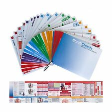 ScrubCheats 50 Nursing Reference Cards HEAVY Laminated Scannabl... Free Shipping