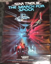 Star Trek III The Search for Spock Movie video promo poster