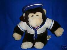 Gilligan Plush Sailor Monkey Heritage Collection Ganz 1992 12""