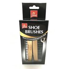 Shoe Brush Polish Set Shine Boot Non Scratch Like Horse Hair Leather New