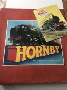 Vintage HORNBY TRAIN Goods Set 20 Gauge 0 Made By Meccano, UK