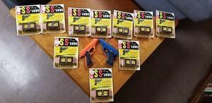 Airsoft Zebra II Toy Pistol Ray Line Vint 1960's plus 100 unopened ammo packs!!