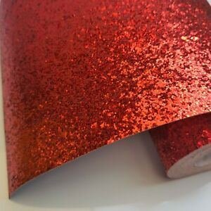 A4  Chunky Glitter Fabric For Crafts and Bows UK