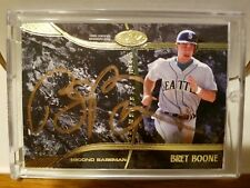 2016 Tier One Baseball Bret Boone Gold Autograph 01/10 Made! * ONLY 10 MADE*