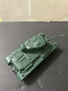 Original  Marx WW2 american tank Green 1:32
