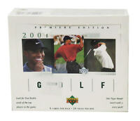 2001 Upper Deck GOLF Premiere Factory Sealed GREEN Hobby Box - Tiger Woods RC??