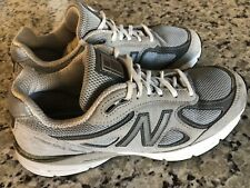 New Balance 990v4 Women's Grey CastleRock Running Athletic Shoes Size 9