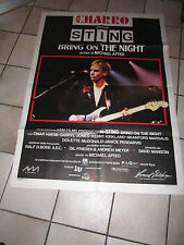 manifesto BRING ON THE NIGHT STING M.APTED MUSICALE POLYGRAM