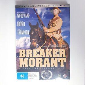 Breaker Morant Movie DVD Region 4 AUS Free Postage - Silver Anniversary Edition