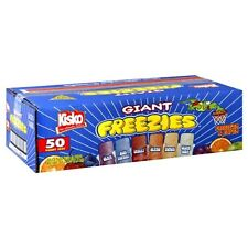 Kisko Freezies, 5.5-Ounce, 50 Count