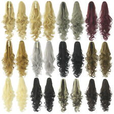 Queen Wig long vague Clip in/on queue de cheval ondulee extension de cheveux60cm