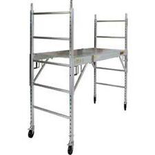 """New! Aluminum Maxi Drywall Baker Scaffold 74""""L x 29-1/2""""W x 75""""H!"""