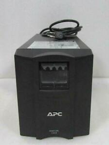 APC Smart-UPS 1500 SMT1500 980W 1440VA LCD Battery Backup UPS