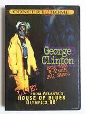 George Clinton  the P-Funk All Stars - Live in Atlanta (DVD, 1999) (eb6)