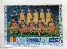 figurina USA 94 SERVICE LINE NUMERO 59 ROMANIA SQUADRA