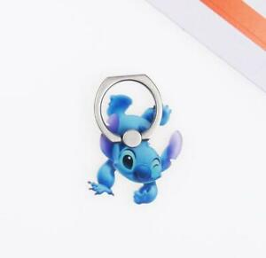 Stitch Cute 360 Rotating Phone iPhone Bracket Grip Finger Ring Stand