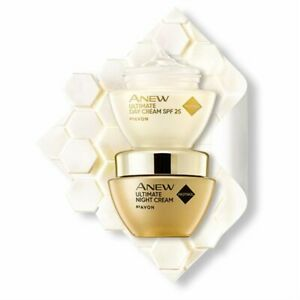 AVON ANEW Ultimate Day & Night Cream Set Age 40+ 50ml New In Boxes (RRP £32.00)