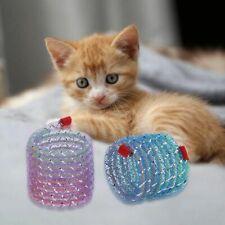 6pcs Cat Toy Funny Pet Flexible Kitten Interactive Toys Spring Line Tube