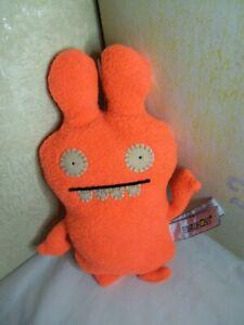"Ugly Doll Plunko Orange Plush 8"" Stuffed Animal Toy Uglydolls Two Eyes"
