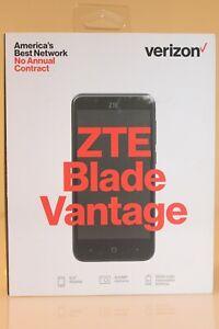 "Verizon 5"" Display ZTE Blade Vantage 4G LTE Prepaid Smartphone Black"