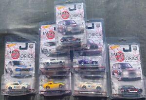 A14    1/64 Hot Wheels JAPAN HISTORICS 1... you will get 7 cars