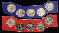 2013 PD America the Beautiful Quarters Uncirculated in Mint Cello 10 Coin Set