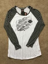 Harley Davidson Open Neck Long Sleeve Shirt NWT Women's XXL