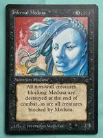 MTG - Infernal Medusa - Black Border Legends - Magic the Gathering