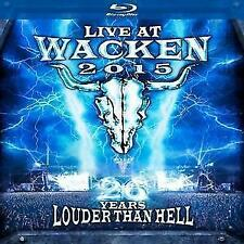 Live At Wacken 2015-26 Years Louder Than Hell, Various Artists, 2016, 2 BD & 2CD