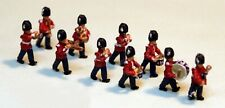 10 Guards Marching Band A113 UNPAINTED N Gauge Scale Langley Models Kit Figures
