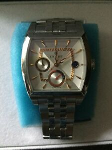 PERRELET  A1021-4 AUTOMATIC WATCH STAINLESS STEEL WITH BOX AND BOOKLET