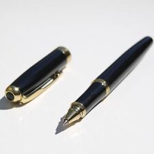 Black Rollerball Pen Baoer 388 With Free Extra 5 Rollerball Refills Great Gift