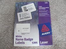 avery name badges 5395 ebay