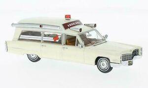 Cadillac S&S Ambulance Blanc 1:43 Model Neo Scale Models