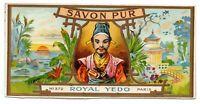 ANUNCIO DE PUBLICIDAD DE JABÓN SAVON PUR - ROYAL YEDO - PARIS   165x80mm