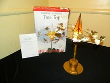 Mr Christmas Floating Animated Tree Top Flying Angels Star Table Stand