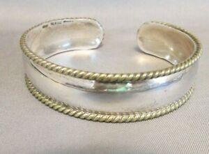 VINTAGE TAXCO Sterling Silver Cuff SLAVE Bracelet 925 Mexico 15.7 grams