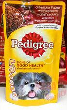 130g Pedigree Balanced Healthy Dog Wet Food Grilled Liver with Vegetables