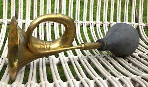 Vintage Brass Car / Taxi Horn Rubber Ball needs replacing