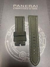 Panerai OEM 24mm Hunter Green Nylon Strap 24/22mm for Tang Buckle