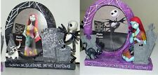 New NBC Nightmare Before Christmas ~ 2 JACK & SALLY Photo PICTURE Frames