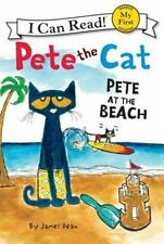 Pete the Cat: Pete at the Beach (My First I Can Read)-ExLibrary