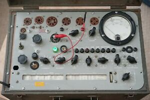 TV 10 Military Tube Tester - restored/calibrated Hickok design