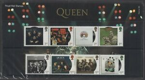 2020  Queen + Mini Sheet Presentation Pack 588 - Ref:5614