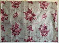 Beautiful 19th Century French Printed Cotton Floral Chintz Fabric